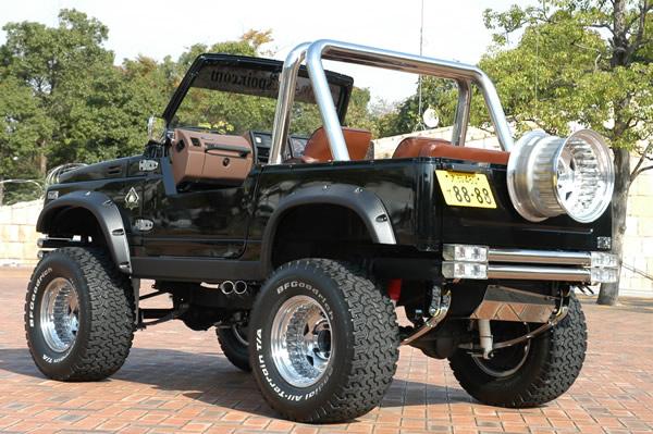 ジムニーJA71 4x4エスポワールデモカー