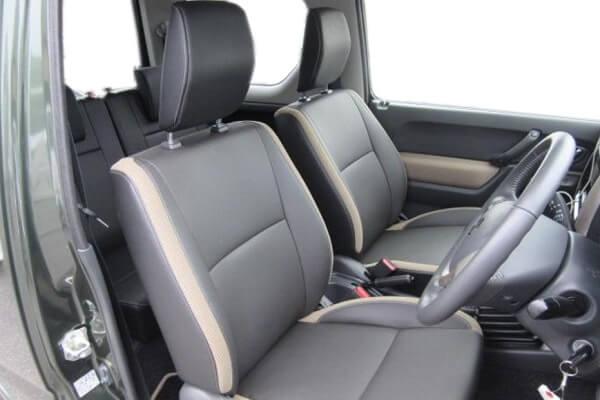 ジムニーJB23-10型 ランドベンチャー 運転席・助手席シート
