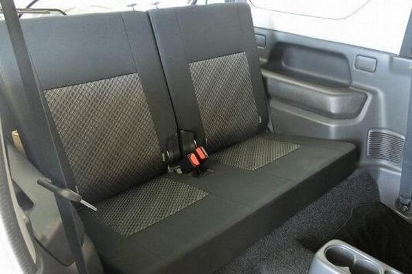 ジムニーJB23-10型 XG 後席シート