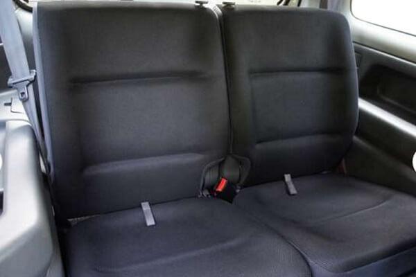 ジムニーJB23-2型 ワイルドウインド 後席シート