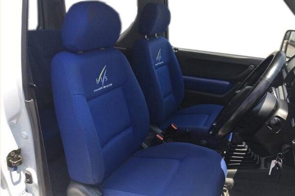 ジムニーJB23-3型 FIS 運転席・助手席シート