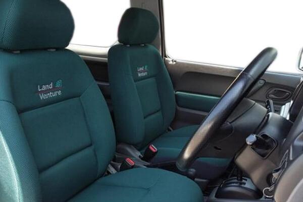 ジムニーJB23-3型 ランドベンチャー 運転席・助手席シート