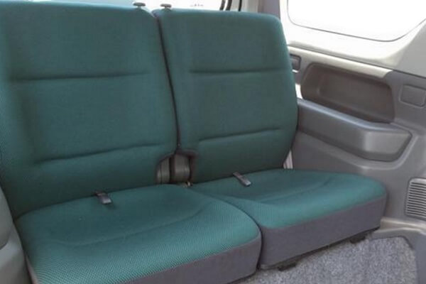 ジムニーJB23-3型 ランドベンチャー 後席シート