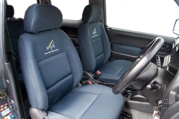 ジムニーJB23-4型 FIS後期 運転席・助手席シート