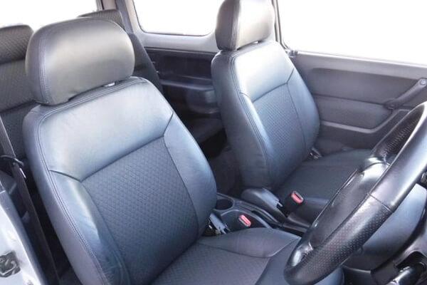 ジムニーJB23-4型 ランドベンチャー 運転席・助手席シート