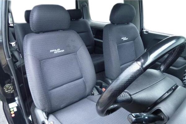 ジムニーJB23-4型 ワイルドウインド 運転席・助手席シート