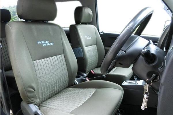 ジムニーJB23-6型 ワイルドウインド前期 運転席・助手席シート