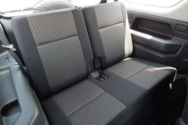 ジムニーJB23-8型 XG 後席シート