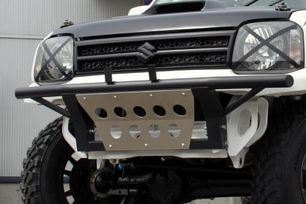 K-PRO フロントプレランタイプバンパー ブラック