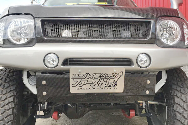 HB1stカーボンスキッドプレート