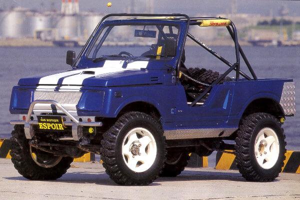 ジムニーJA11 2.5インチアップ車両