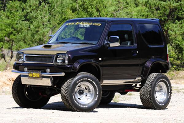 ジムニーJB23 5インチアップ車両