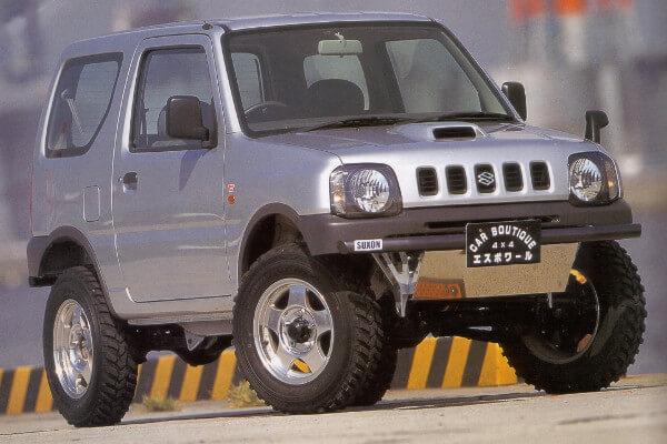 ジムニーJB23 2.5インチアップ車両