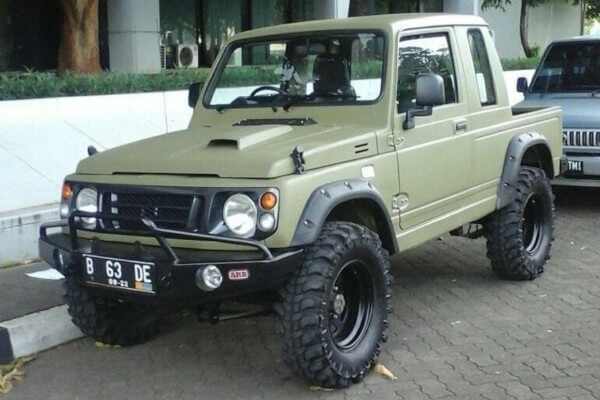 インドネシアのジムニートラックジャンボ!