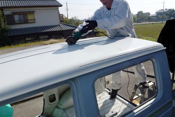 ジムニーJA11 幌車化「バンカット」