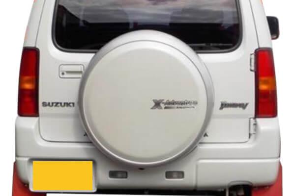 ジムニーJB23 クロスアドベンチャーのスペアタイヤカバー